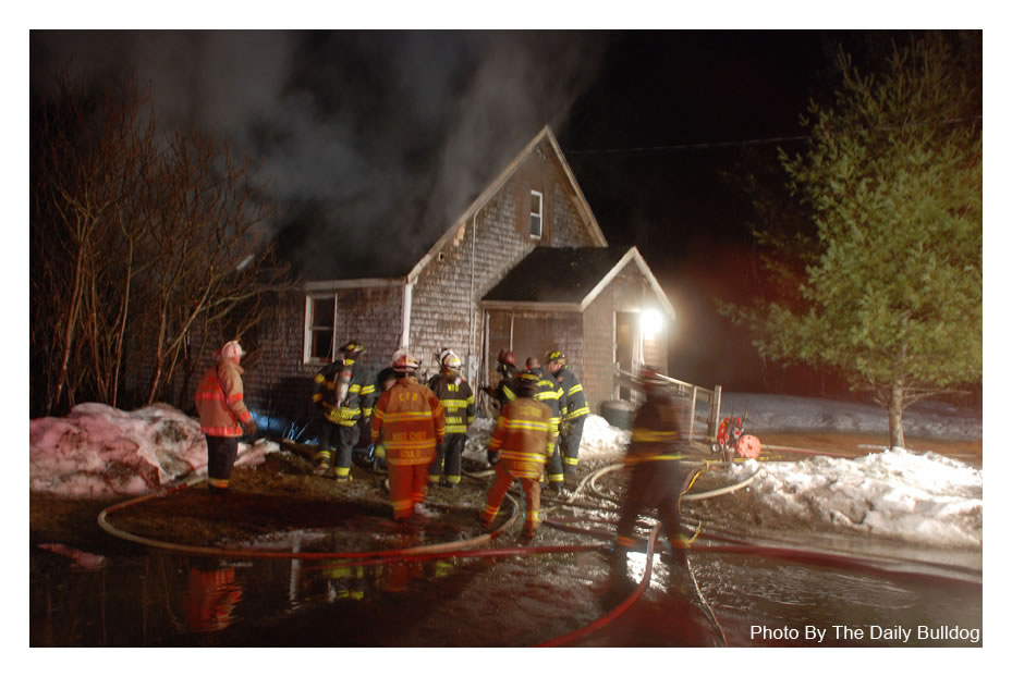 Structure Fire - Industry Road Farmington - March 27th, 2013